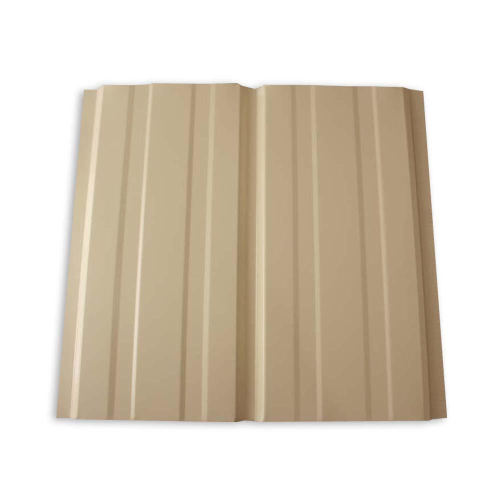 Gutter France - Sous-face de toiture aluminium 2,5 x 0,40 m coloris au choix - Distriartisan
