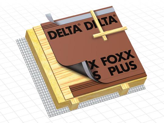 doerken ecran de sous toiture hpv delta foxx plus 50mx1. Black Bedroom Furniture Sets. Home Design Ideas