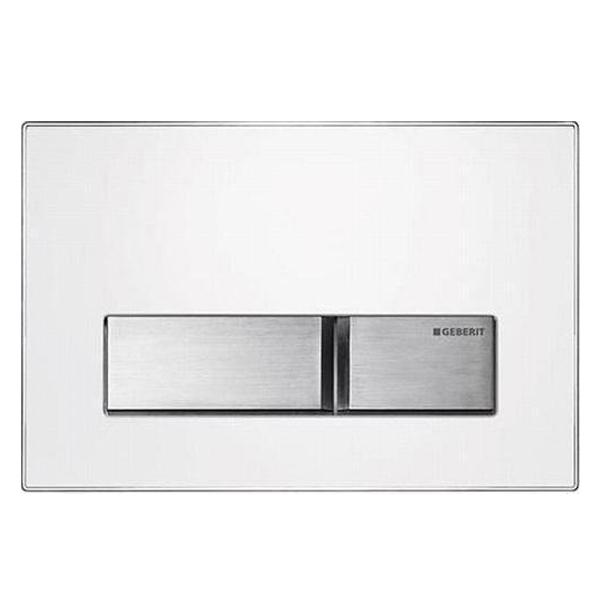 Geberit plaque de commande sigma50 mat riau for Plaque metallique cuisine