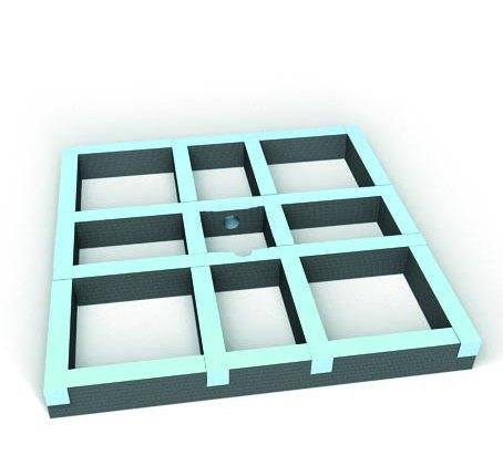 wedi kit de r hausse easy set pour receveur carreler. Black Bedroom Furniture Sets. Home Design Ideas