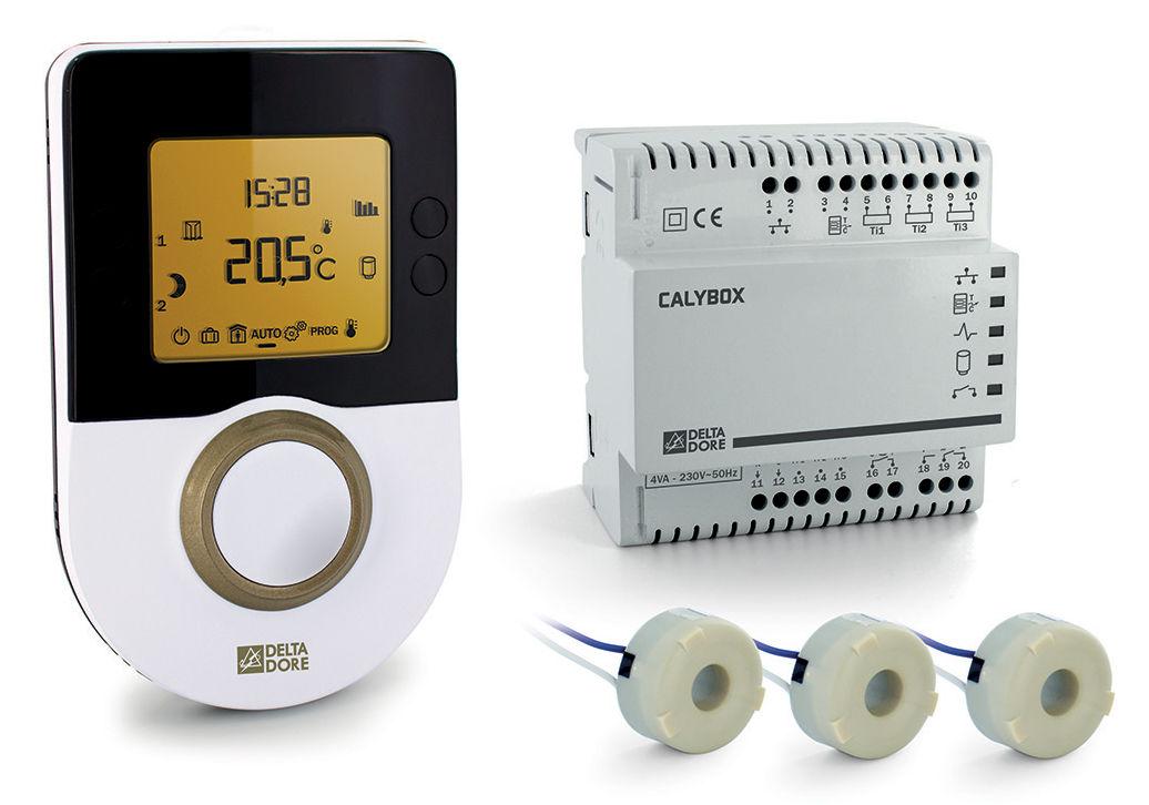 Delta dore gestionnaire d nergie 2 zones pour chauffage for Chauffage pour rt 2012