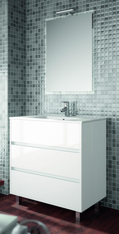 salgar ensemble meuble arenys 800 meuble coloris blanc brillant distriartisan. Black Bedroom Furniture Sets. Home Design Ideas
