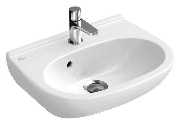 villeroy et boch lave mains o novo dimensions 45 x 35 cm couleur blanc distriartisan. Black Bedroom Furniture Sets. Home Design Ideas