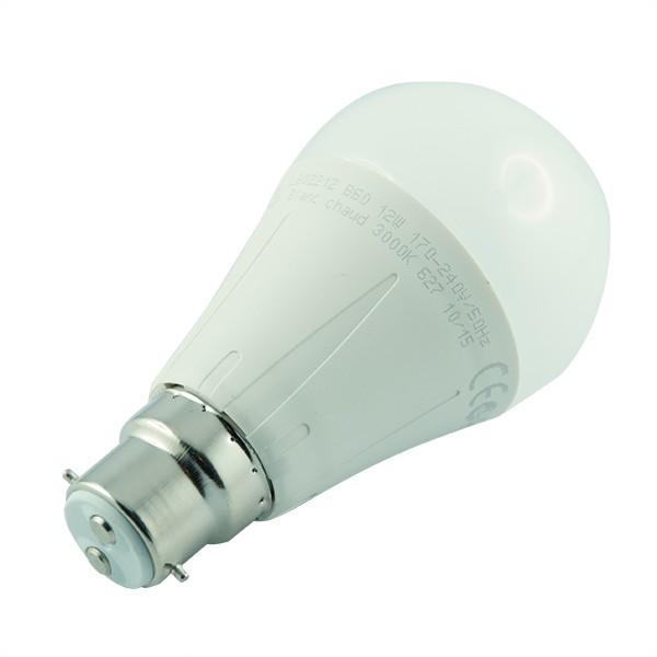 Arcotec ampoule led b22 12 watt eq 75 watt couleur eclairage blanc chaud 3000 k - Ampoule led b22 ...