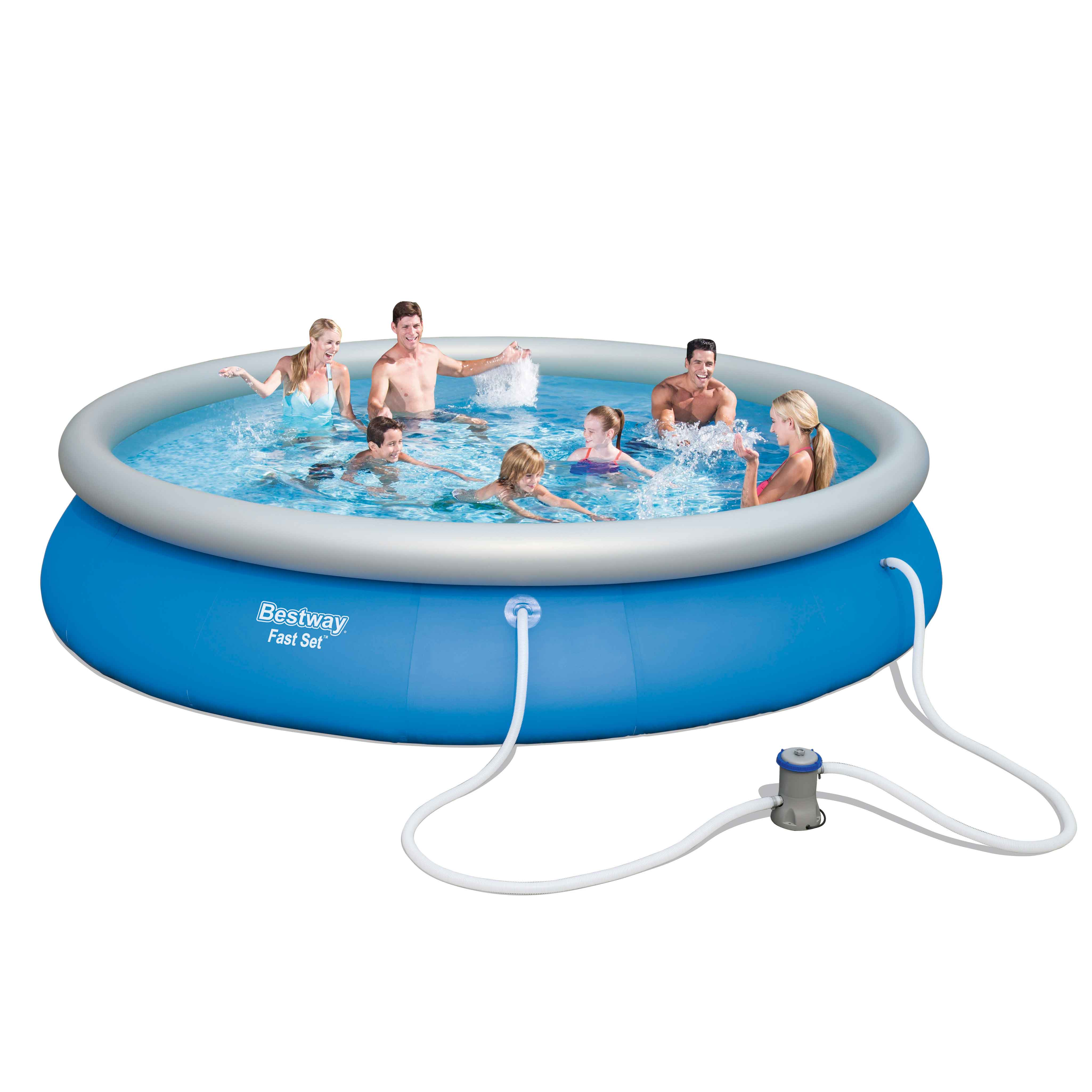 Provence outillage piscine autostable bestway ronde for Piscine autostable
