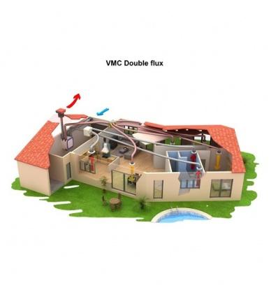 vmc double flux akor bp hr kit unelvent 603041. Black Bedroom Furniture Sets. Home Design Ideas