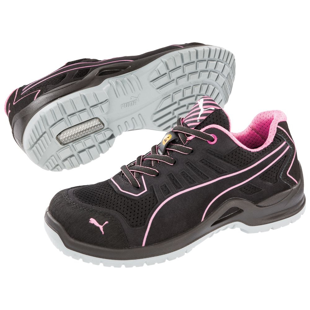 puma chaussures de s curit basses femme fuse pink esd s1p src distriartisan. Black Bedroom Furniture Sets. Home Design Ideas