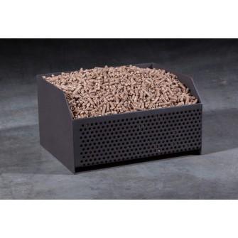 bricoflamme panier a pellets distriartisan. Black Bedroom Furniture Sets. Home Design Ideas