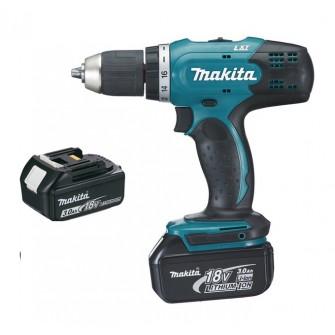 Perceuse visseuse Makita 18V 3.0Ah + 2 batteries et chargeur en coffret DDF453SFE