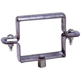 Collier de descente carré à embase 7/150 diam. 100x100