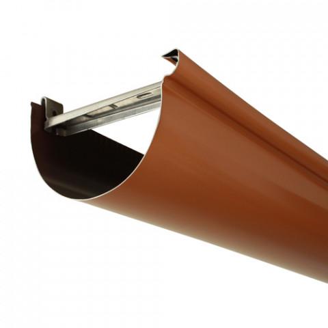 Gouttière aluminium demi-ronde