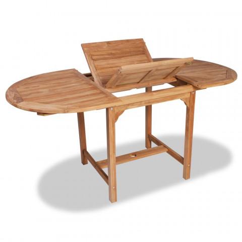 Vidaxl Teck110 Extensible 160X 80 75 Cm Table En rdCoexB