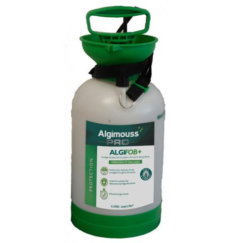 Pulvérisateur Algifob Imperméabilisant Eau Et Graisses Dallages Et Carrelages 5l Algimouss 048007