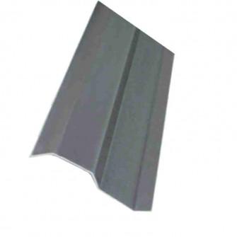Contre solin aluminium laqué bicolore 1,5 m x 70 mm rouge brique brun