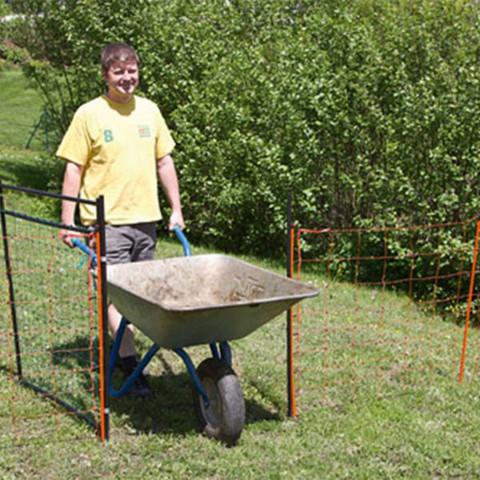 Filet de barres 8/tiges de rechange 233/cm avec pinces pour filet de s/écurit/é pour trampoline