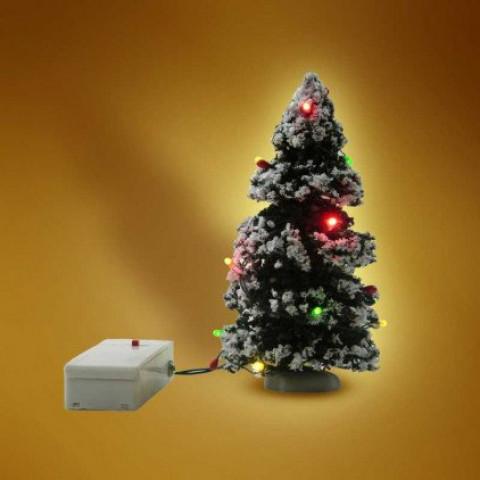 Mini Sapin De Noel Lumineux Ose   Mini sapin de noël lumineux à led   Distriartisan
