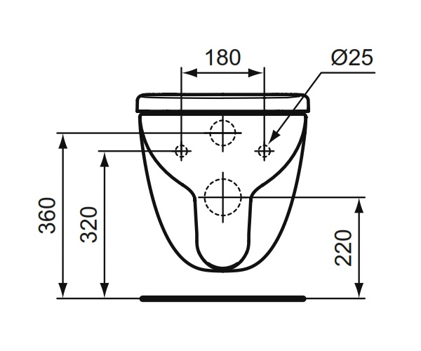 ideal standard cuvette wc suspendue kheops courte distriartisan. Black Bedroom Furniture Sets. Home Design Ideas