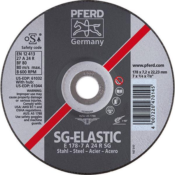 pferd disque barber sg elastic pour l 39 usinage de l 39 acier x pais 178 x 8 3 mm mod le. Black Bedroom Furniture Sets. Home Design Ideas