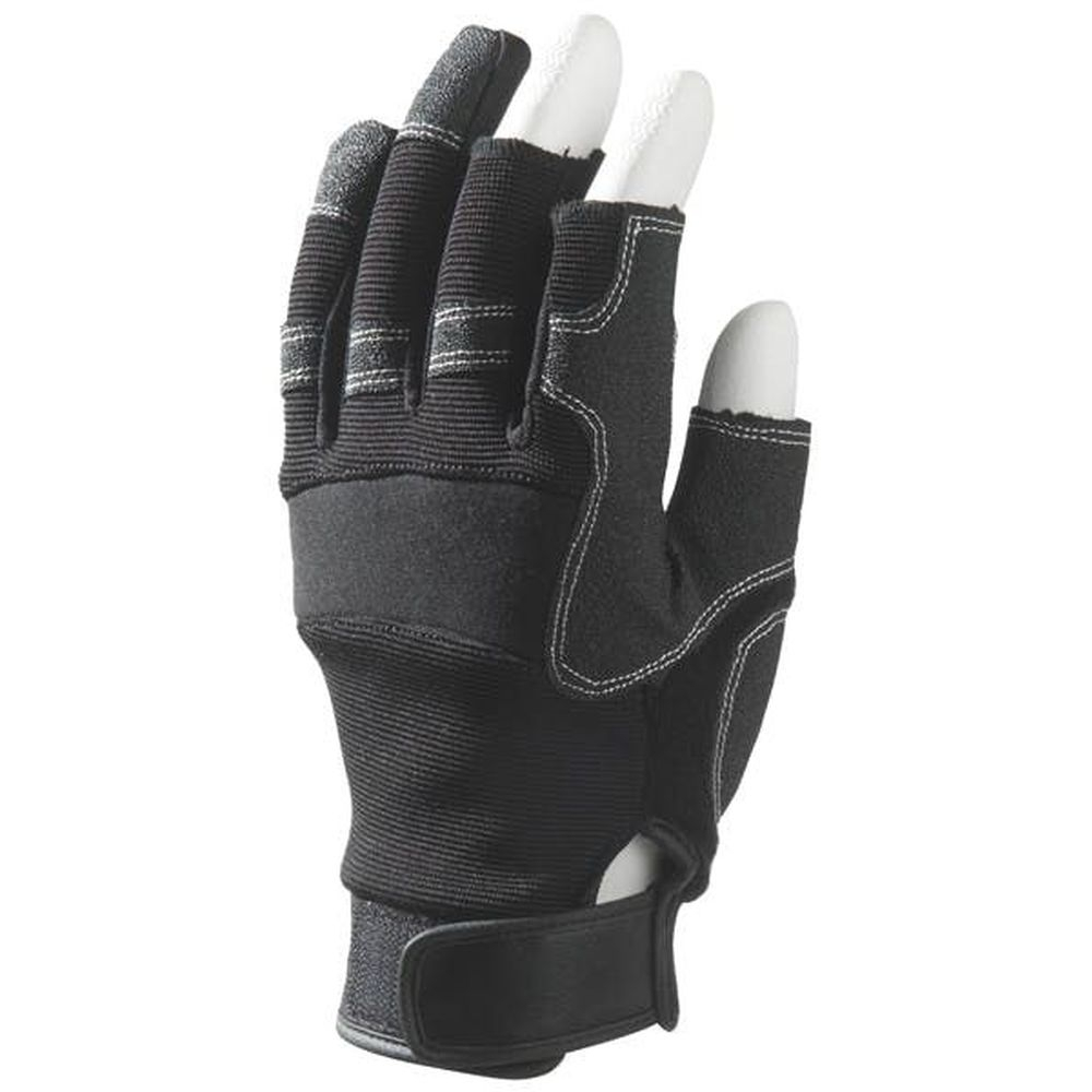 gants mitaines eurotechnique mechanical 3 doigts ouverts lot de 12 distriartisan. Black Bedroom Furniture Sets. Home Design Ideas
