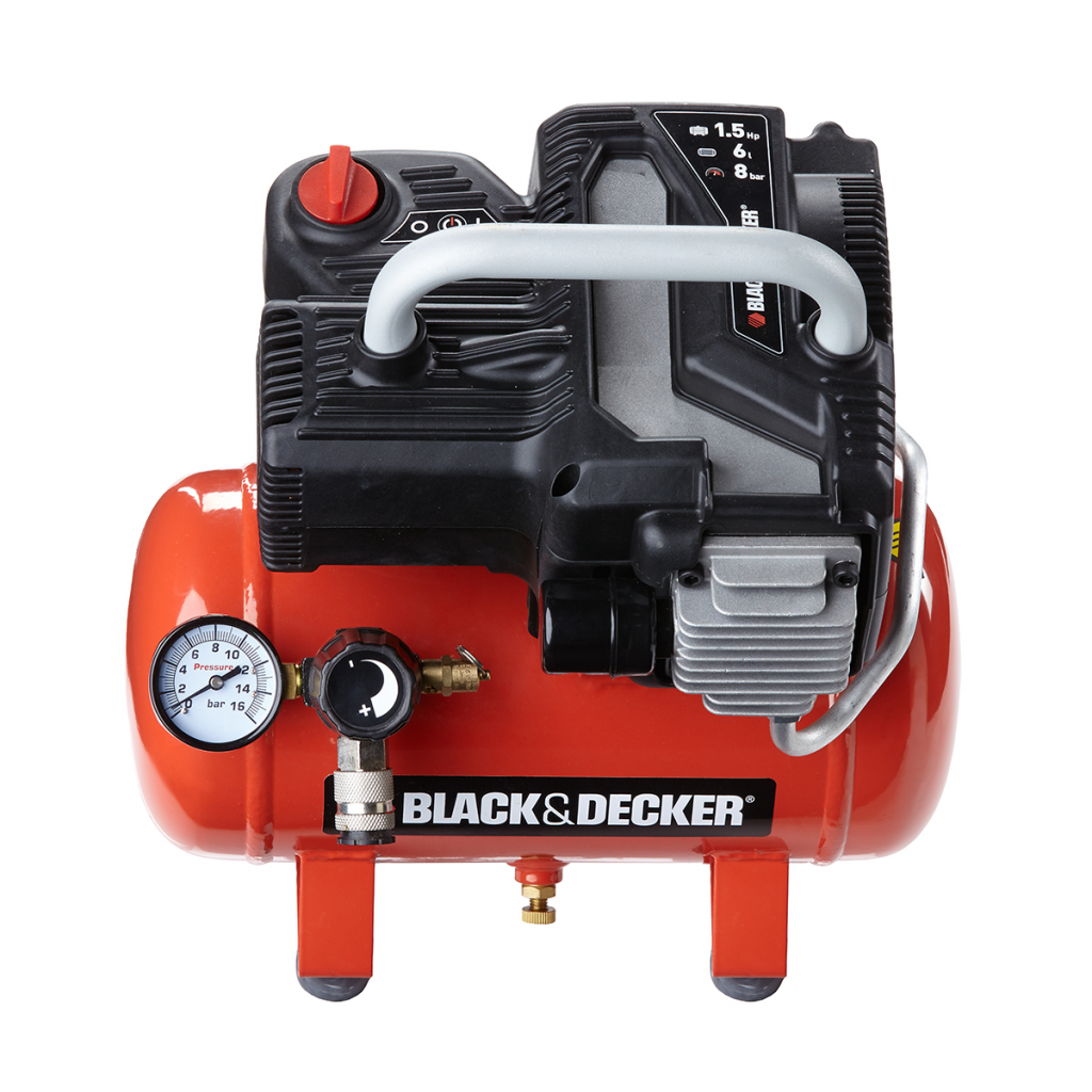 black decker black decker black decker compresseur air 6 l nkbb304bnd008 distriartisan. Black Bedroom Furniture Sets. Home Design Ideas