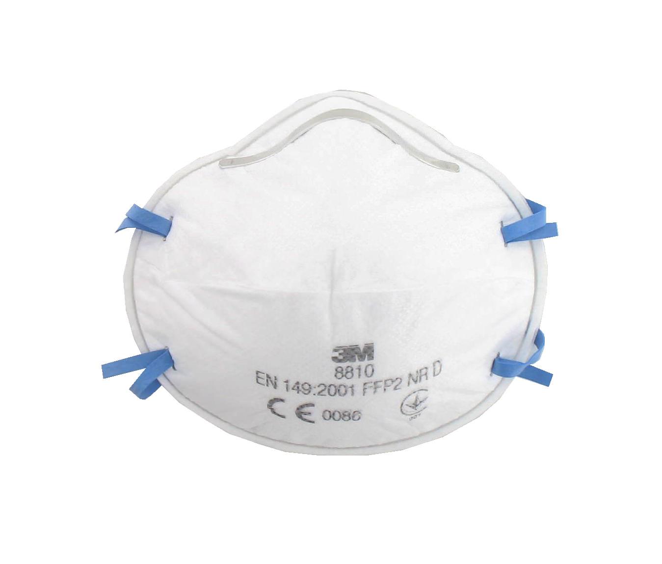 3m masque 8810 anti poussi res ffp2 sans soupape distriartisan. Black Bedroom Furniture Sets. Home Design Ideas