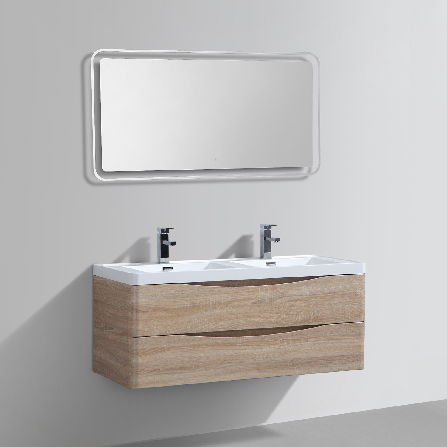 miroir a led fabulous miroir led ikea affordable salle de bain luminaire u miroir led with. Black Bedroom Furniture Sets. Home Design Ideas