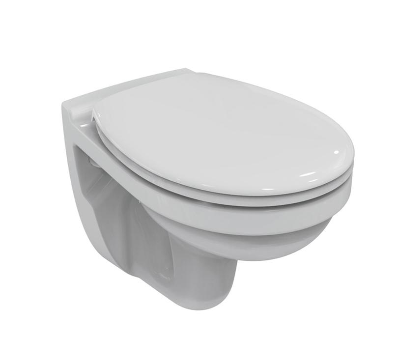 porcher ensemble cuvette wc suspendue ulysse abattant blanc frein de chute siamp distriartisan. Black Bedroom Furniture Sets. Home Design Ideas