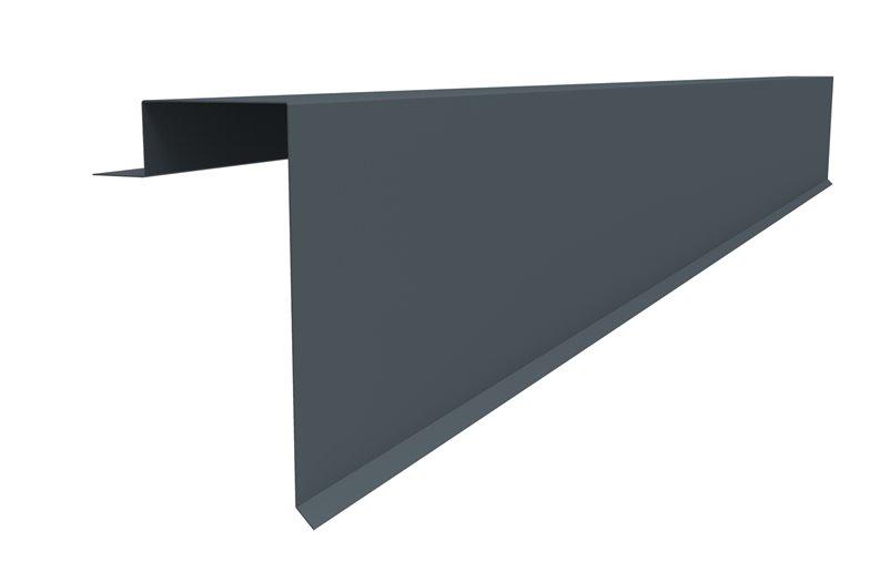 joris ide bande de rive pour t les et panneaux sandwichs en acier couleur au choix. Black Bedroom Furniture Sets. Home Design Ideas