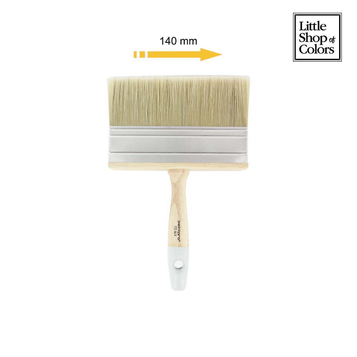 little shop of colors pinceau brosse 4x14cm peintpro 15214x14 manche en bois distriartisan. Black Bedroom Furniture Sets. Home Design Ideas