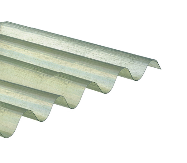 onduline plaque ondul e transparente polyester 1 52 x 1 10 m grandes ondes 95 38 onduclair plr. Black Bedroom Furniture Sets. Home Design Ideas
