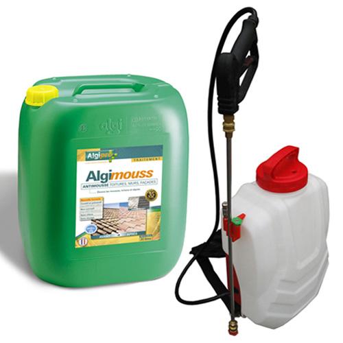 Algimous pack anti mousse pulv risateur lectrique dorsal sprayer s 30 l distriartisan - Algimouss 30 l ...