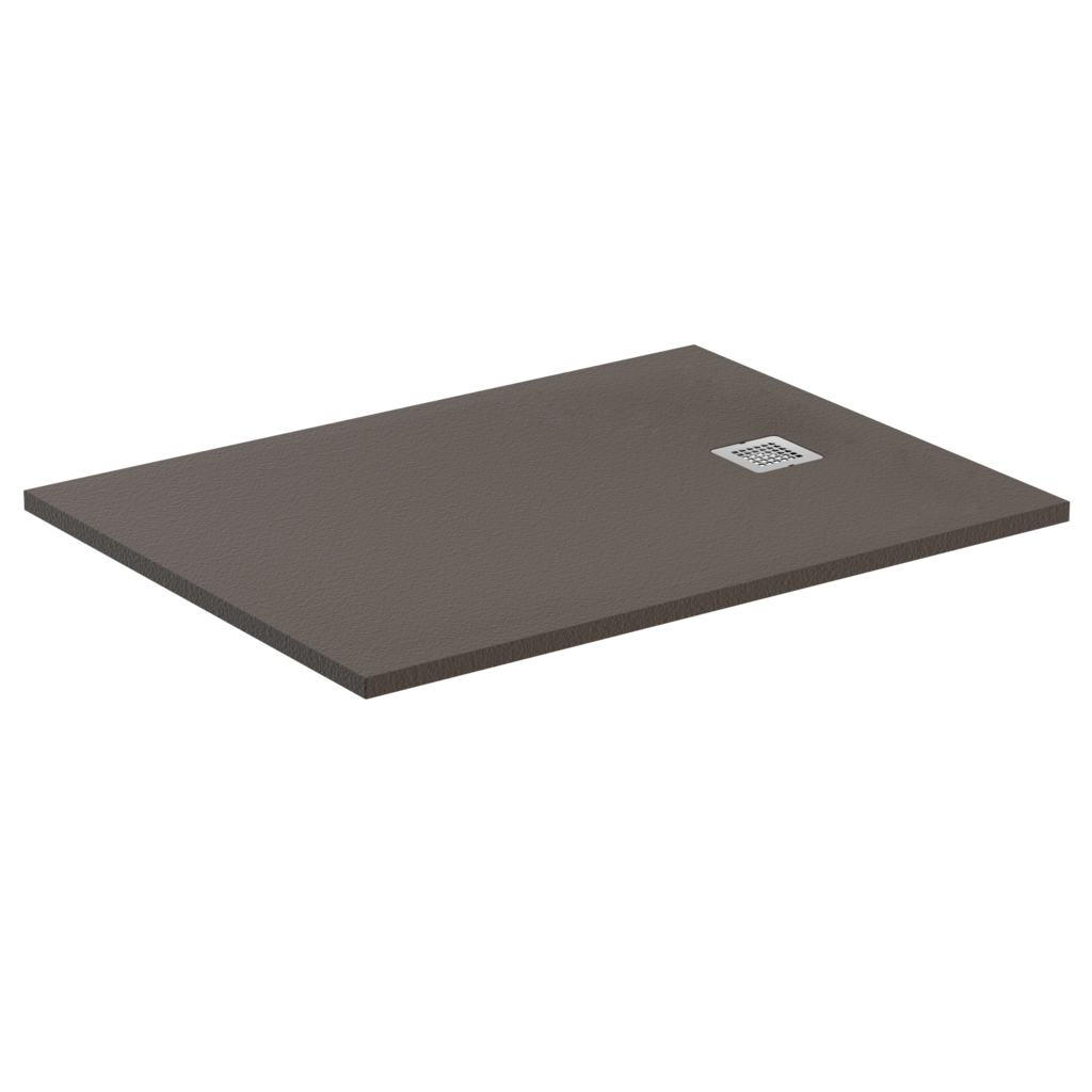 receveur de douche antid rapant ultra flat s moka absolu ideal standard dimensions au choix. Black Bedroom Furniture Sets. Home Design Ideas
