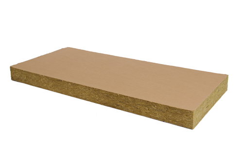 rockwool panneau isolant en laine de roche rockplus kraft pour l 39 isolation des murs de. Black Bedroom Furniture Sets. Home Design Ideas