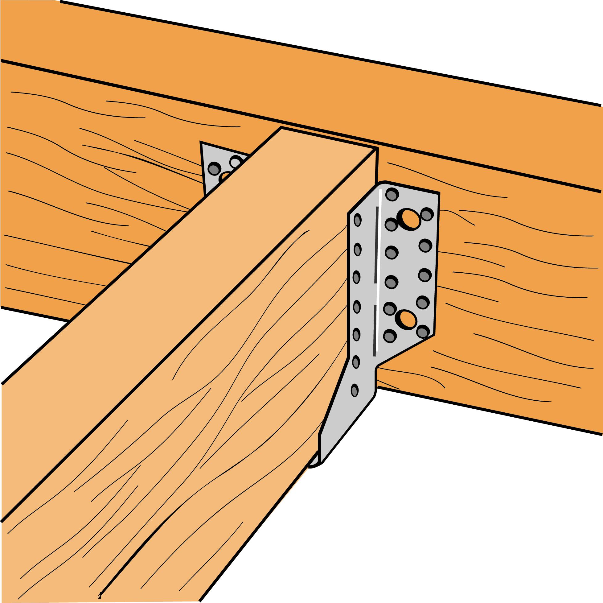 simpson sabots ailes ext rieures dimensions au choix distriartisan. Black Bedroom Furniture Sets. Home Design Ideas