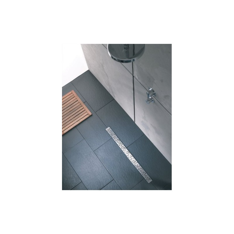 Wirquin wirquin 176335 express 39 eau caniveau pour douche 800 mm distriartisan - Caniveau douche italienne wirquin ...