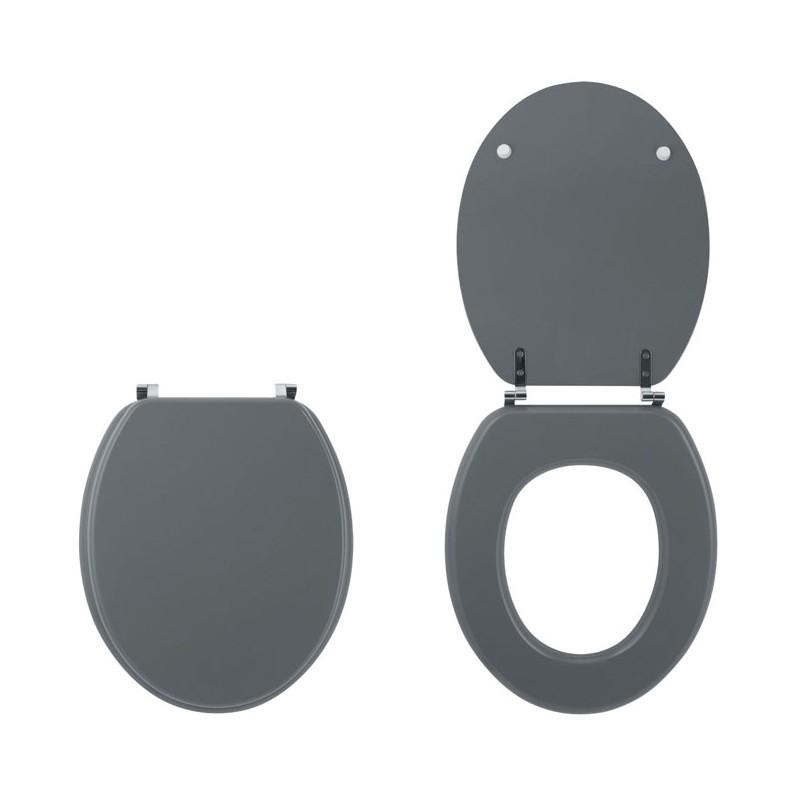 wirquin wirquin 179121 abattants wc colors line bois unis gris clair mat distriartisan. Black Bedroom Furniture Sets. Home Design Ideas