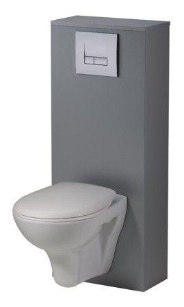 siamp - pack wc suspendu autoportant complet 4 en 1 - distriartisan